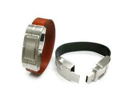 Leather Bracelet Leather USB Stick 3 Years Warranty
